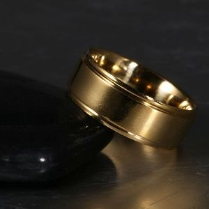 Gold Ring Stainless Steel
